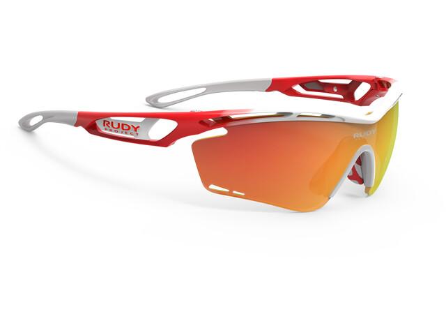 Rudy Project Tralyx Fade Team Trek/Segafredo Glasses white/red-orange